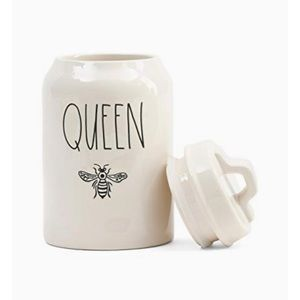 Rae Dunn new in box QUEEN BEE CANISTER